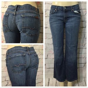 7 For All Mankind Boot Cut Jeans Size 31 X 29